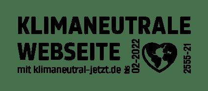 Zertifikat Klimaneutrale Website Imagewunder Green Webdesign