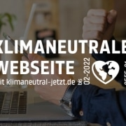 Green Webdesign Klimaneutrale Website