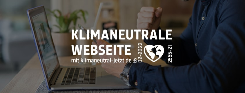 Green Webdesign Klimaneutrale Website