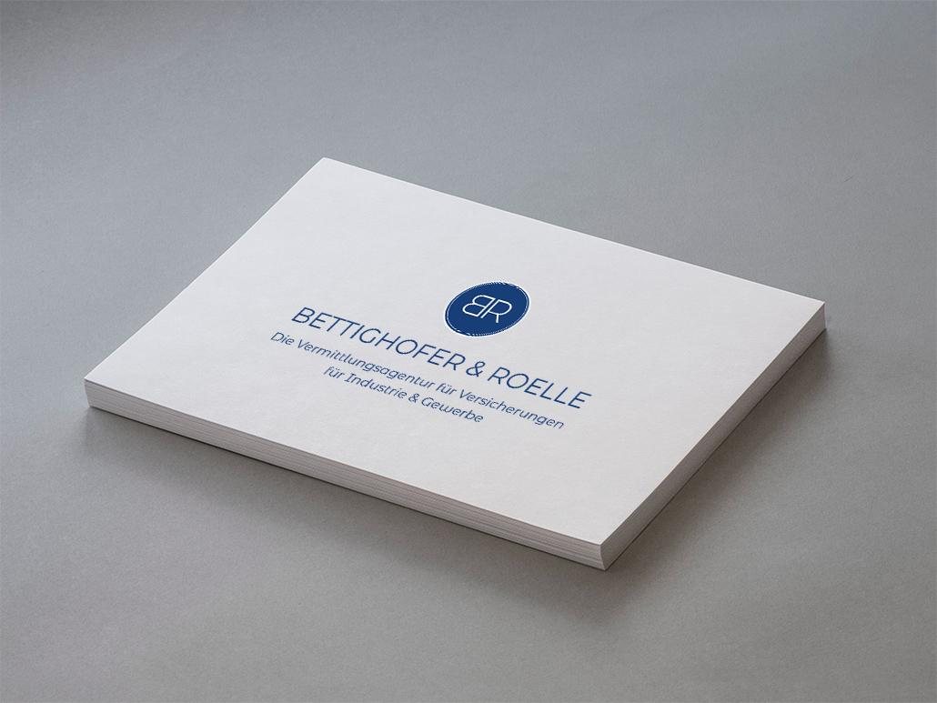 Logo Website Marketing Versicherungsagentur Bettighofer Roelle
