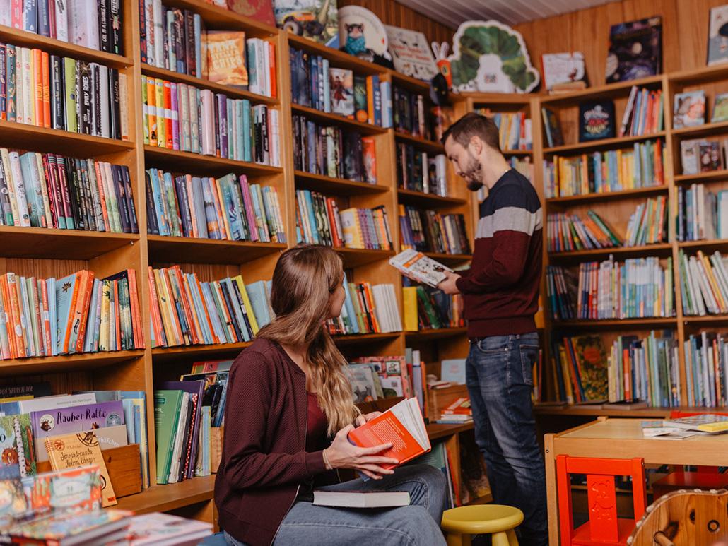 Website Design Buchhandlung Zanker